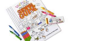 WaypointLiving Spaces Home Renovation Survival Guide Coloring Book