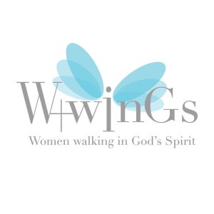Women Walking in God's Spirit illustrated logo